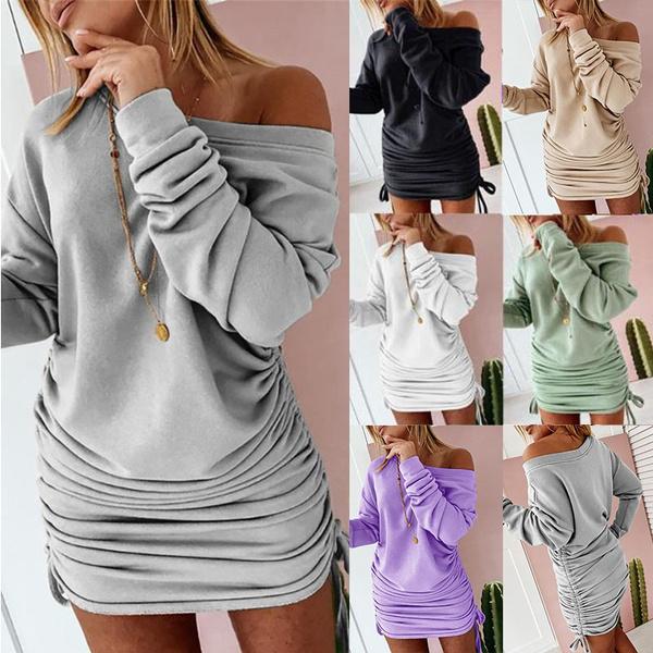 Fashion, sweater dress, Winter, fashion dress