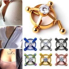 Steel, nipplepiercing, surgicalsteel, Fashion