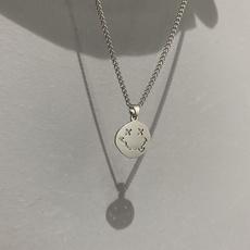 trendy necklace, K-Pop, hip hop jewelry, punk necklace