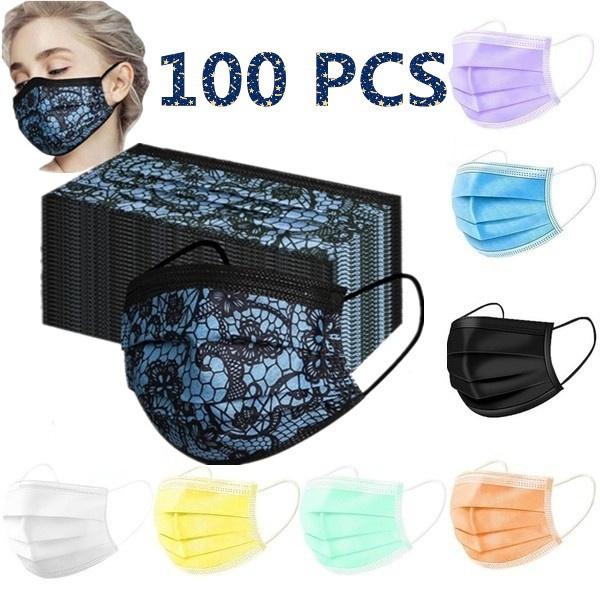 protectivemask, sapato, Lace, Colorful