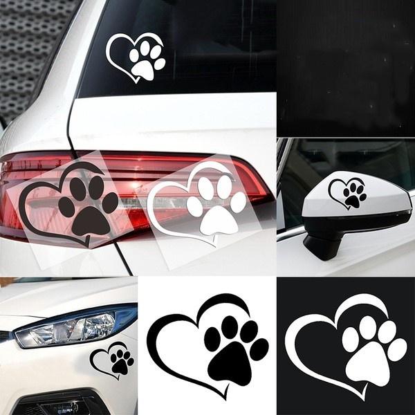 Heart, Love, peach, Car Sticker