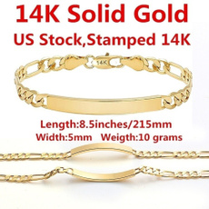 yellow gold, Chain bracelet, Chain, Fashion Bracelet