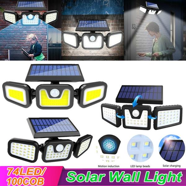 Head, solarlight, Garden, solarspotlight