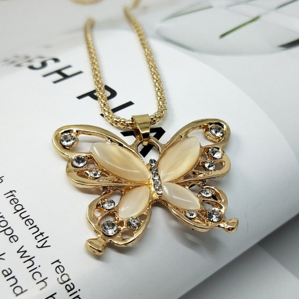 butterfly, Exquisite Necklace, Fashion, punk necklace