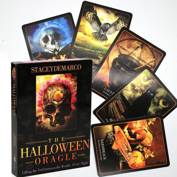 card game, tarotdect, oraclecard, Halloween