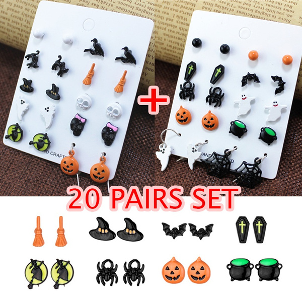 cute, halloweengift, Stud Earring, Halloween Costume