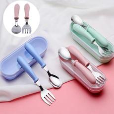 spoonfork, feedingspoon, kidsupplie, Stainless Steel