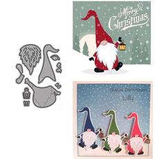 stencil, Christmas, scrapbookingamppapercraft, Santa Claus