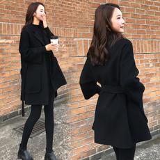 woolen, Fashion, koreanversion, Coat