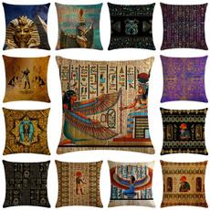 linenpillow, Cushions, Cover, Egyptian