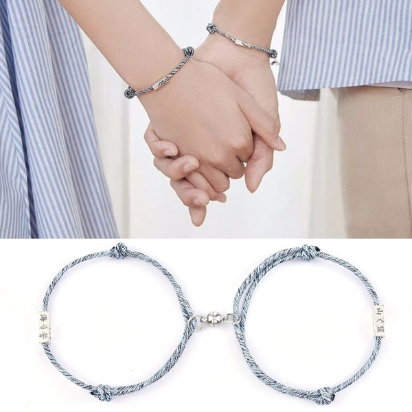 rope bracelet, Jewelry, Love Bracelet, couplejewelry