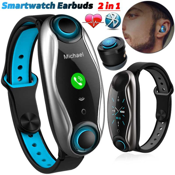 Heart, smartwatchheadset, Earphone, wristbandearbud