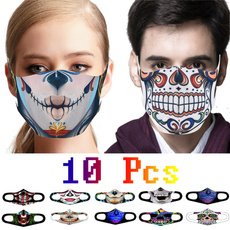 ghost, scary, dustproofmask, mouthmask