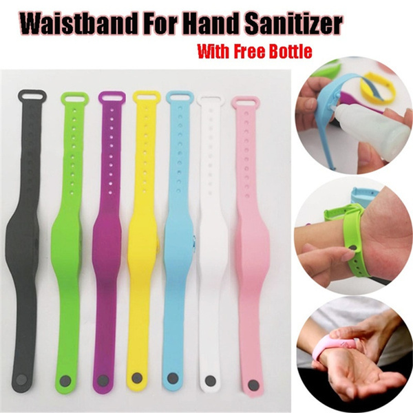 Wristbands, Waterproof, Silicone, handwashgel