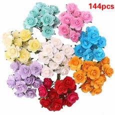 Mini, Flowers, paperrose, Bouquet