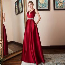 Sleeveless dress, promgown, Fashion, Evening Dress