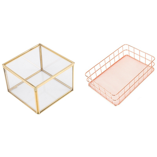 Jewelry, gold, stationerystoragebox, Rose