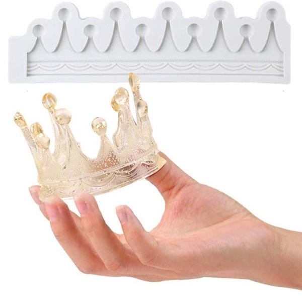 crown, fondantmold, chocolatemold, Silicone