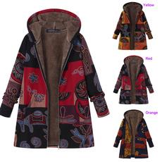Fleece, hooded, Outerwear, Sleeve