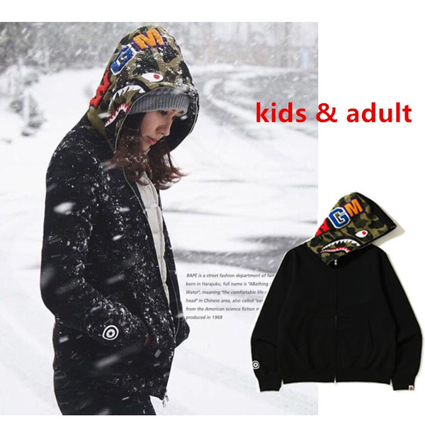 Shark, Fashion, Winter, bapecoat