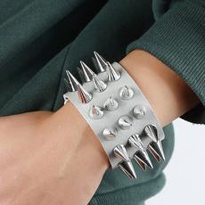 Charm Bracelet, Bracelet, Goth, Fashion