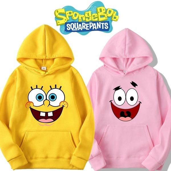 hoodiesformen, Star, Sponge Bob, Tops