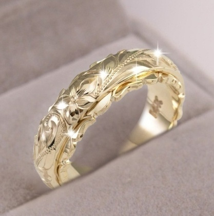Fashion, Women Ring, gold, Sterling Silver Ring