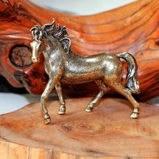 Copper, horse, Vintage, Ornament