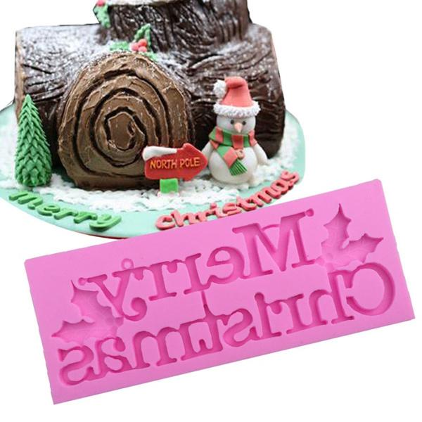Baking, Christmas, Silicone, Chocolate