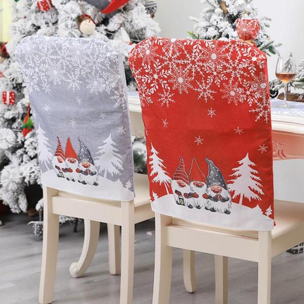 Home & Kitchen, chaircover, Christmas, christmaschaircover