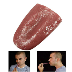 faketongue, tonguepropsartificial, Halloween Decorations, trickytoy