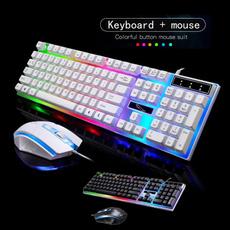 backlitkeyboard, keyboardandmouseset, usb, PC