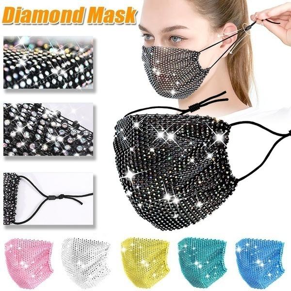 Fashion, partymask, faceshield, unisex