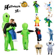 alien, inflatablecostume, Cosplay, funnycosplay