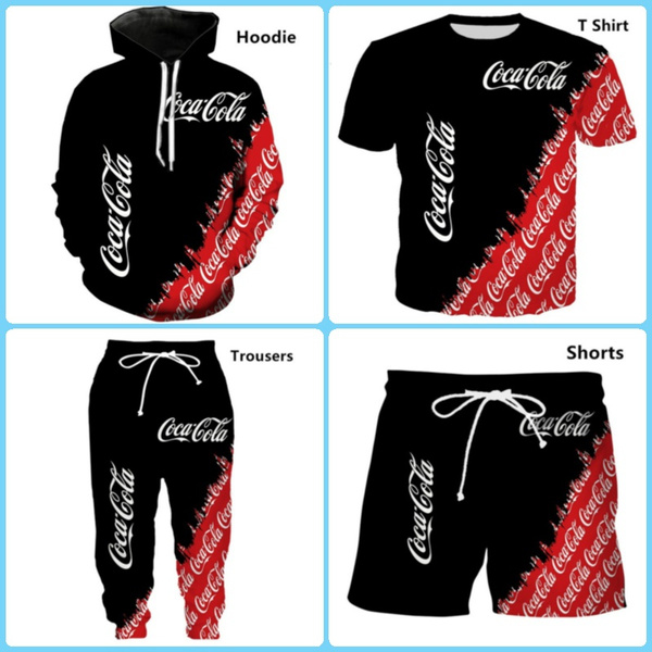 cocacolahoodie, Casual, T Shirts, 3dsuit