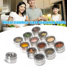 Steel, Sauces, Kitchen & Dining, Storage