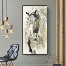 Pictures, horse, living room, art