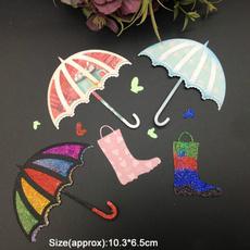 umbrellarainshoesdie, art, Scrapbooking, embossingfolderdie