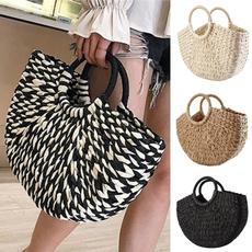 wovenbag, Fashion Accessory, handknitting, strawbag