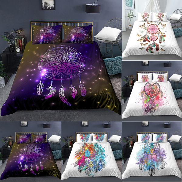 beddingkingsize, bohemia, Dreamcatcher, 3dduvetbedding