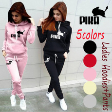 Two-Piece Suits, womensautumntracksuit, pants, Long Sleeve