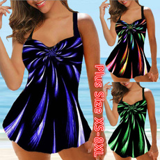 padded tankinis, Plus Size, Swimming suit, Tops