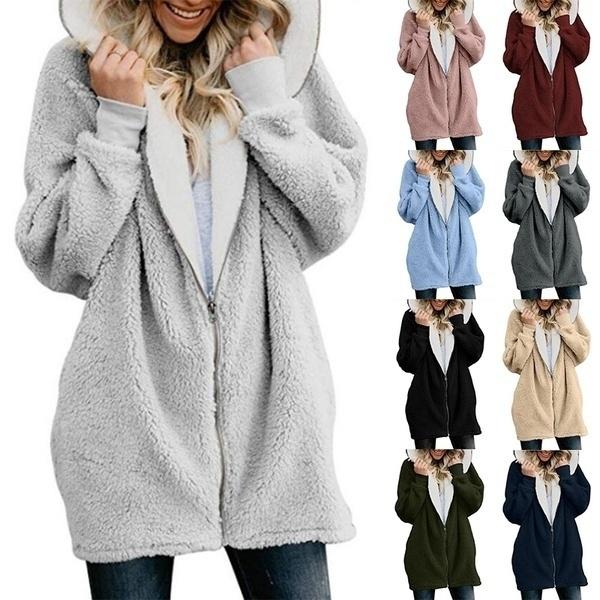 fur coat, Fashion, Winter, Long Sleeve