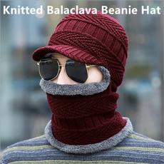 knitted, Beanie, balaclavaskimaskwindproof, windproofbalaclavafacemaskmen