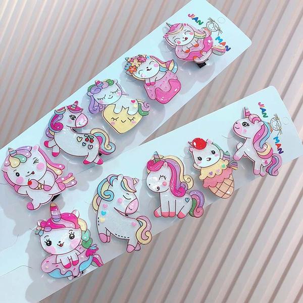 cutehairpin, korea, Animal, unicornhairclip