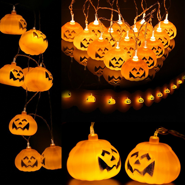 Home & Kitchen, pumpkinledlight, LED Strip, halloweenparty