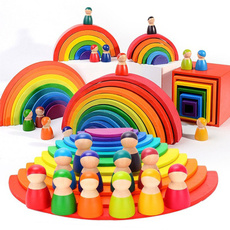 rainbow, Toy, montessoritoy, rainbowblock