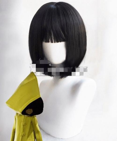 wig, black, cosplay wig, wigs cospay