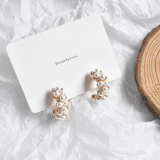 Pearl Earrings, Sweets, Japanese, Earring