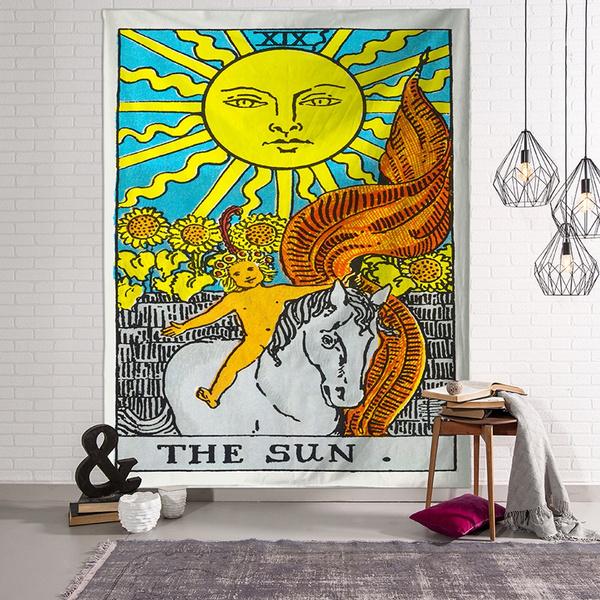 art, Home Decor, Home & Living, Shawl